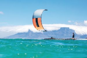 kite surfing, kitesurfing, sea